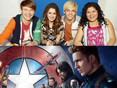 Deadpool, Austin & Ally, Civil War, Taylor Swift & More Land 2016 Teen Choice Award Nominations
