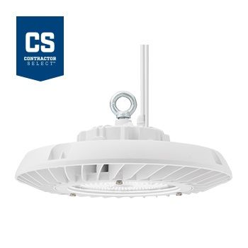 lithonia lighting jebl 18l dlc premium qualified 136 watt contractor select round led high bay light fixture dimmable 120 277v 400w hid replacement