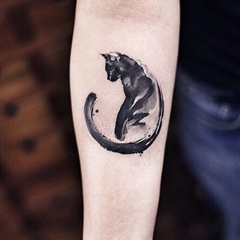 cosa significa tatuaggio gatto