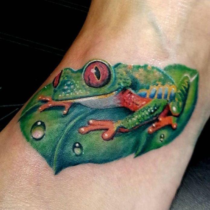 tatuaggio rana