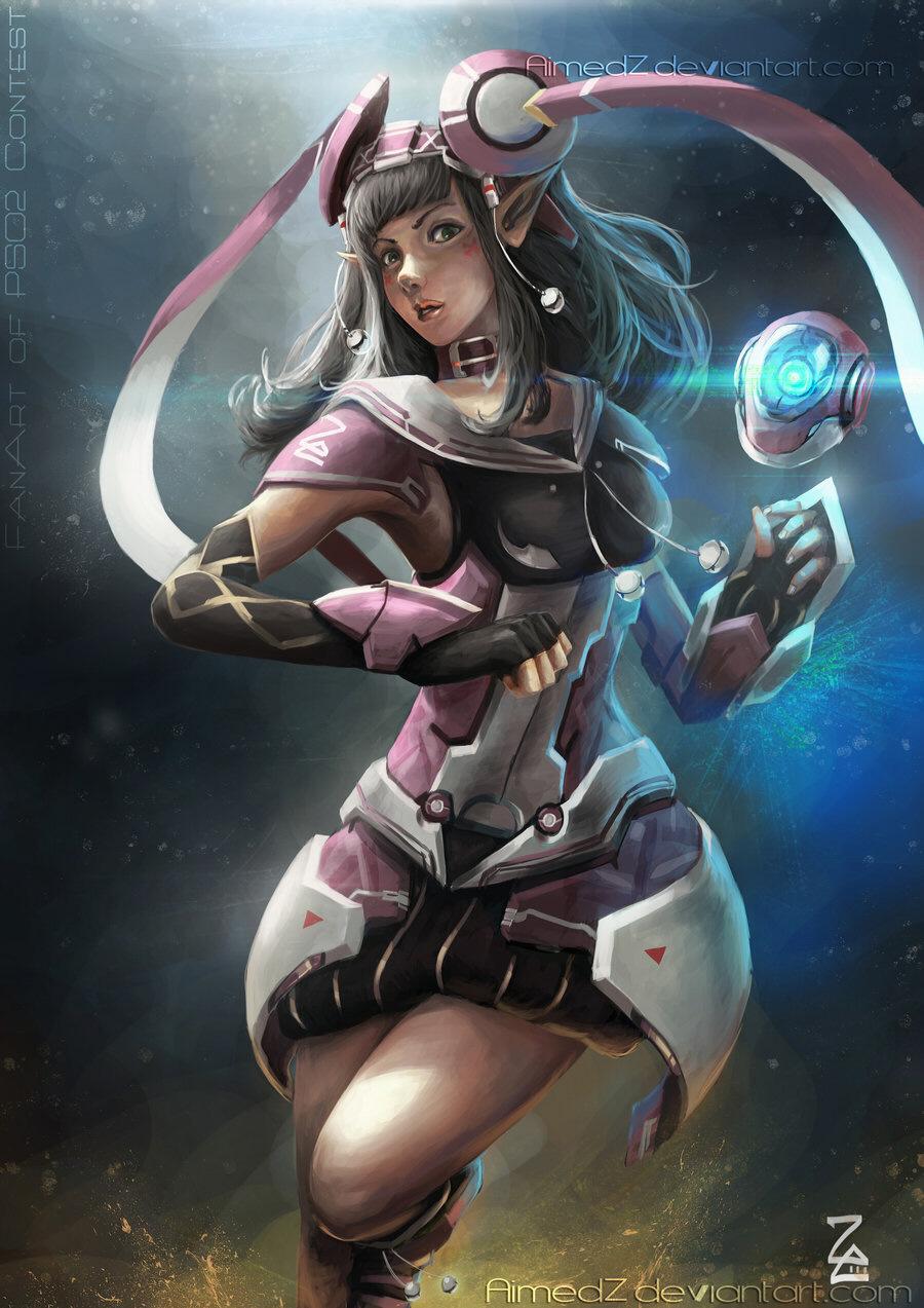 Phantasy Star Online 2 Artwork SegaShin Force