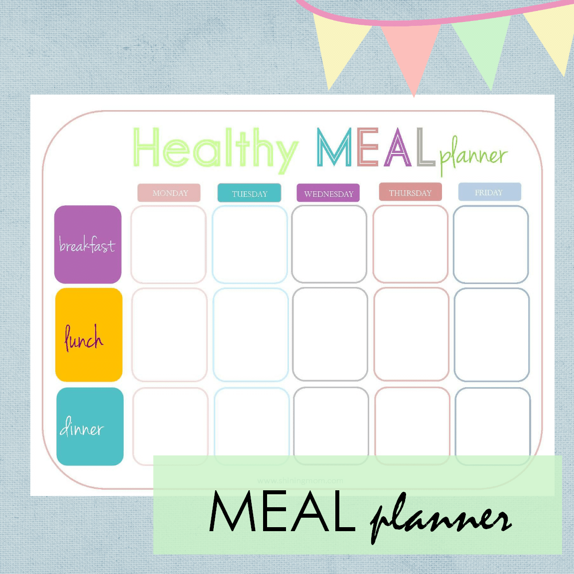 Your Free Printable Calendar And Home Planners For Summer