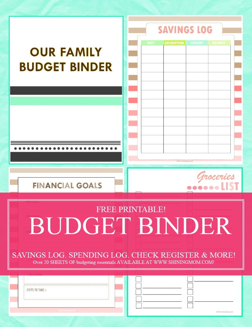 Sharing with you our humble Family Budget Binder. It has over 20 ...