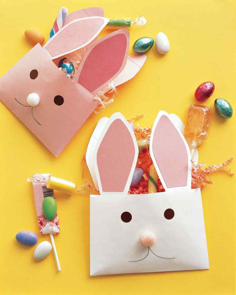 easter bunny envelope