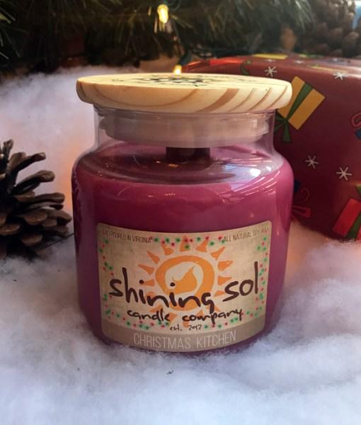 Christmas Kitchen - Large Jar
