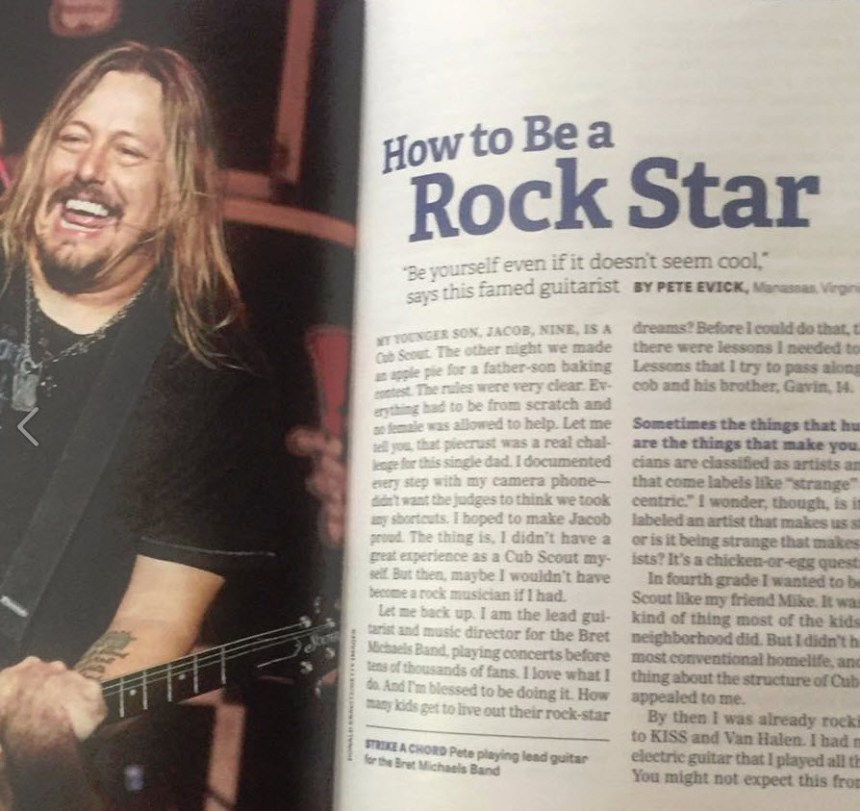 Pete in Guideposts Magazine