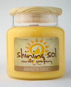 Amaretto Sunset - Large Candle