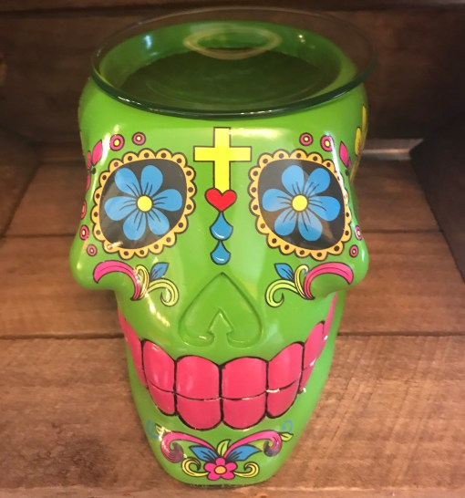 Green Skull Warmer
