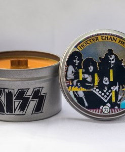 Kiss - Hotter Than Hell - Travel Tin Candle