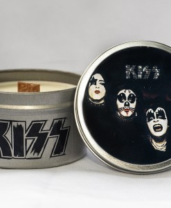 Kiss - Kiss - Travel Tin Candle
