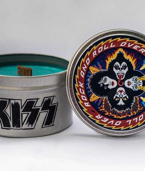 Kiss - Rock and Roll Over - Travel Tin Candle