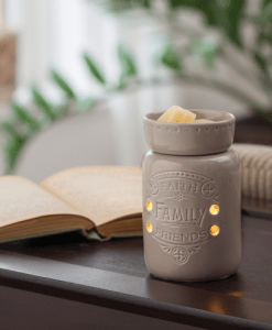 Faith Family Friends Midsize Illumination Warmer