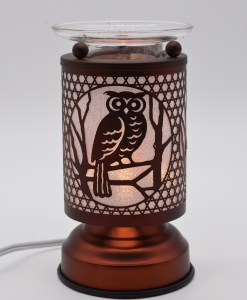 Owl Copper Touch Warmer