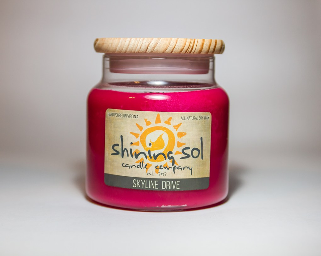 Skyline Drive - Large Candle