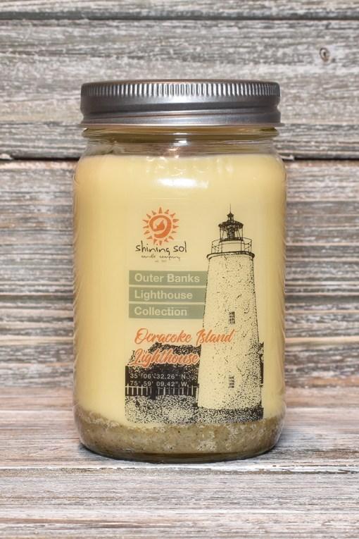Ocracoke Island Lighthouse Candle