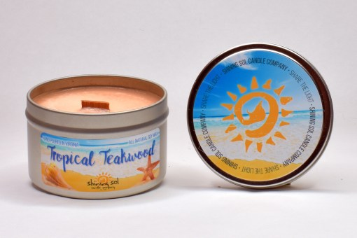 Tropical Teakwood - Large Tin