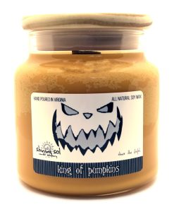 King of Pumpkins - Large Jar Candle