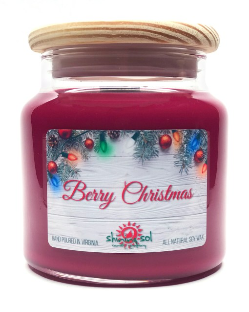 Berry Christmas - Large Jar Candle