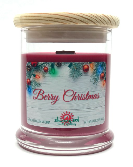 Berry Christmas - Medium Jar Candle