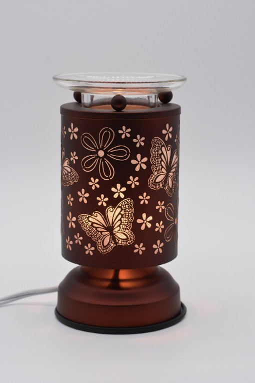 Butterflies and Flowers Copper Touch Warmer