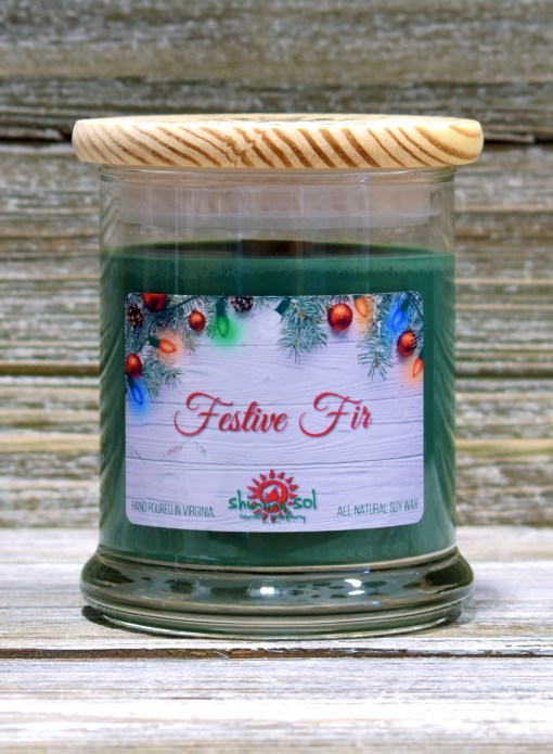 Festive Fir - Medium Candle
