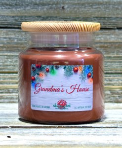 Grandma's House - Large Candle