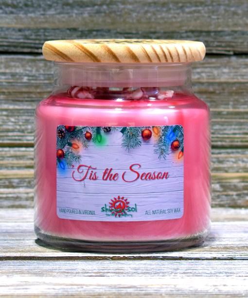 Tis the Season - Large Candle