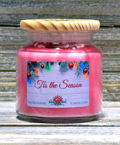 Tis the Season - Large Candle