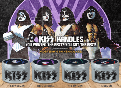 Kiss Solo Tin Group - Ad Large