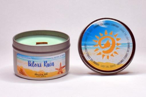 Biloxi Rain - Large Tin