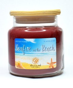 Bonfire on the Beach - Large Candle
