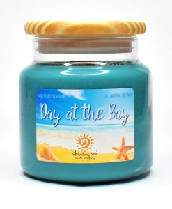Day at the Bay - Large Candle