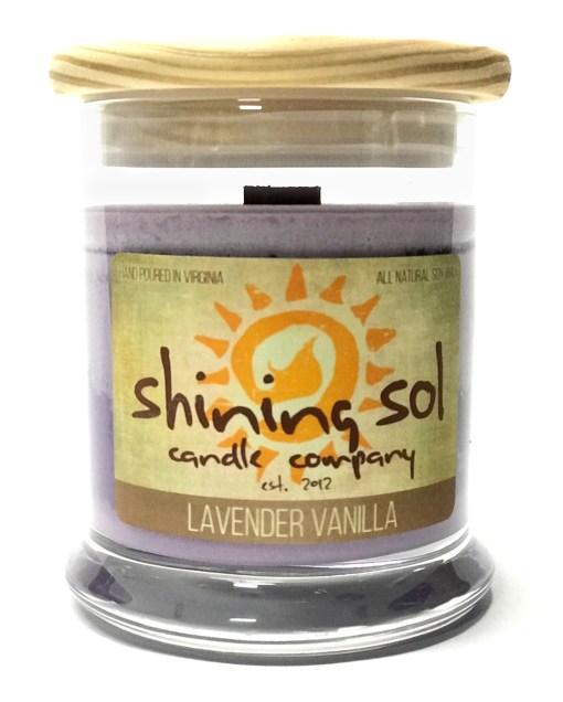Lavender Vanilla - Medium Jar Candle