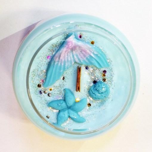 Mermaid Cove - Large Jar Candle - Top