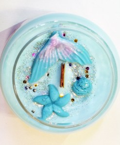 Mermaid Cove - Large Jar Candle - Top