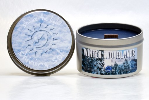 Winter Woodlands - Large Tin
