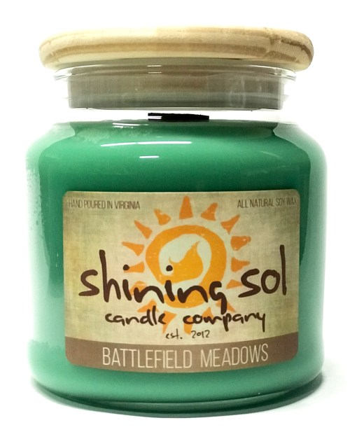 Battlefield Meadows - Large Jar Candle