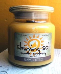 Summer Citrus - Large Jar Candle