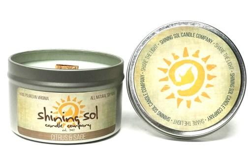 Citrus & Sage - Large Tin