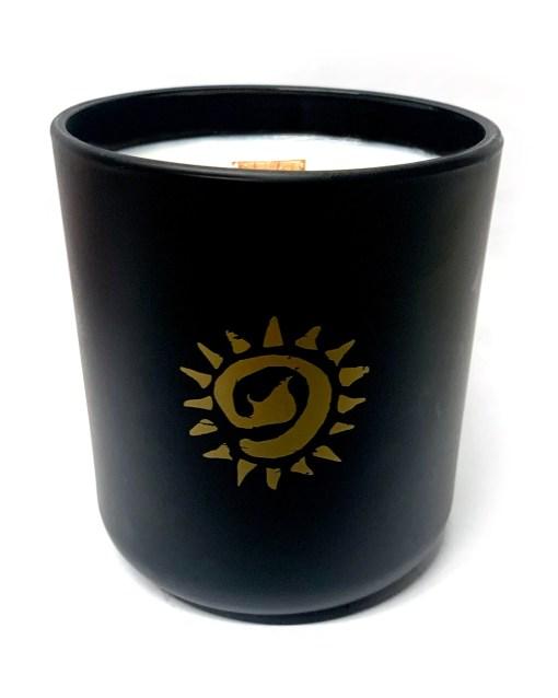 Black Matte Jar