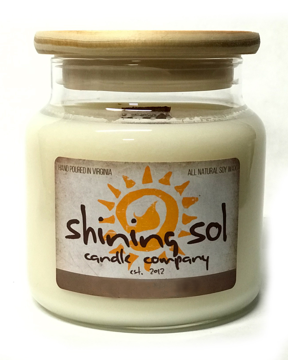 Unscented - Large Jar Candle