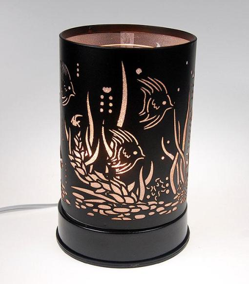 Fish (White) Black Touch Warmer