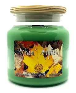 Pickin Apples - Large Jar Candle