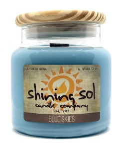 Blue Skies - Large Candle