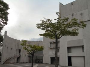 福島市音楽堂。ここの大ホールでリハーサルが行われました