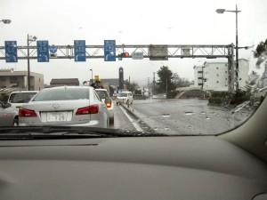 事故を起こしている軽自動車