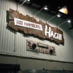 HACHI の看板