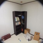 本棚を二基組みました。