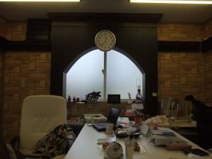 お店の事務室