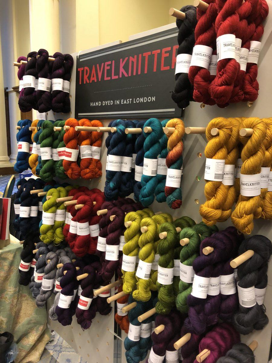 Travelknitter stand Yarnporium 2018